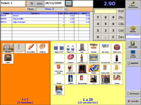 Software tienda TPV tactil:InterTPV